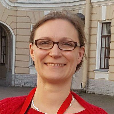 Sisko Ruponen Suomi-Venäjä-Seura