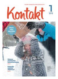 Suomi-Venäjä-Seuran jäsenlehti Kontakt 1/2018 kansi