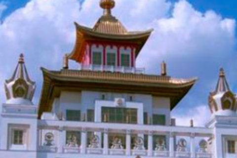 VenäjänMatkat Kalmukian temppeli