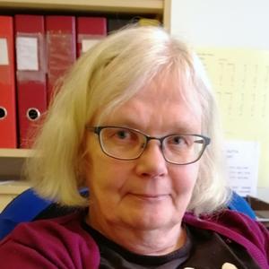 Pirjo Laurila työskentelee Suomi-Venäjä-Seuran Turun piiritoimistossa toimistosihteerinä.