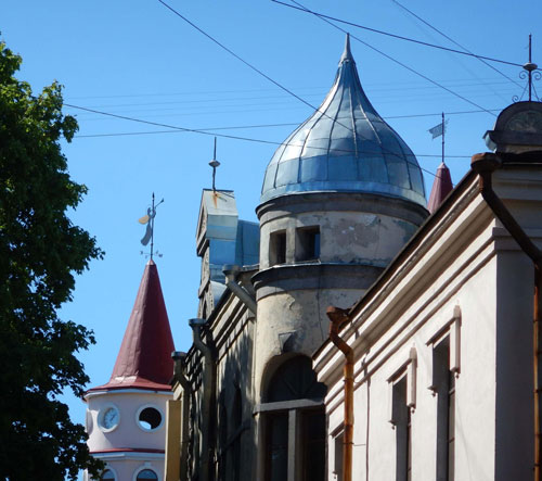 Viipurin kattotornit kuvaaja Heli Niemi