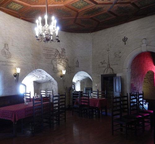 Viipurin pyöreän tornin sali, kuvaaja Heli Niemi