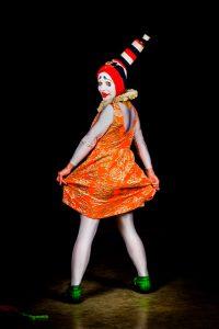 Suomi-Venäjä-Seuran Five Stars Circus -kiertueella esiintyy klovni Elena Sadkova.