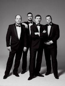 Pietarilainen Konevitsa-kvartetti käy vuosittain kiertueella Suomessa.