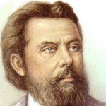Venäläinen säveltäjä Modest Musorgski, kuva kotimuseon kokoelmista.