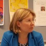 Suomalais-venäläisen koulun opettaja Lidia Kukkonen.