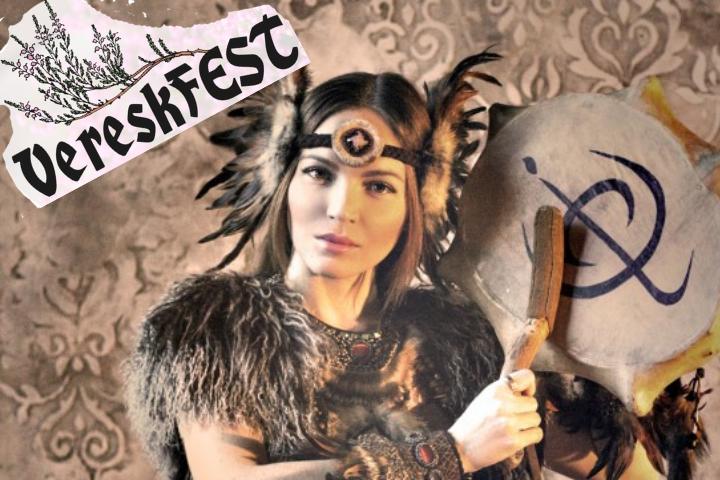 Kansainvälisesti tunnettu ja palkittu kurkkulaulaja, munniharpun soittaja Olena Uutai esiintyy Helsingissä VereskFESTIllä 18.8.2019.