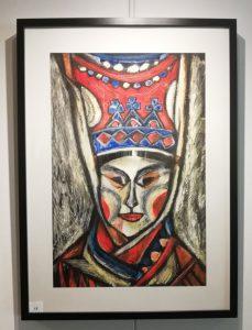Kolttanainen, Irina Sitdikovan näyttelyteos